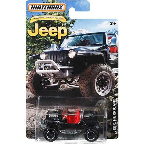 Matchbox Jeep 75th Anniversary Series Jeep Huricane Diecast 164 arte em miniaturas