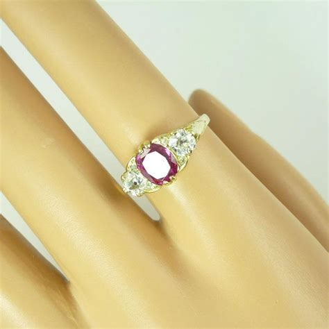 Ruby Burma 1 0ct by Certified Untreated 1 0ct Burmese Ruby 18kt