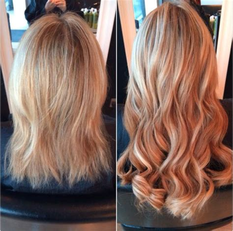 great lengths hair extensions before during after cold pinterest the world s catalog of ideas