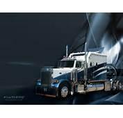 Black Truck Wallpaper Kenworth Mack
