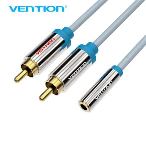Rock Aux Audio Cable Y Splitter Sp 2 vention 2 rca to 3 5mm audio cable rca splitter y cable for iphone edifer
