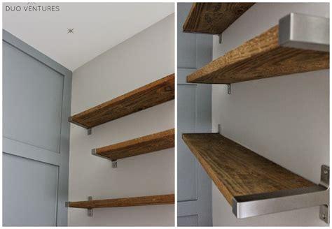 reclaimed barn wood wall shelves