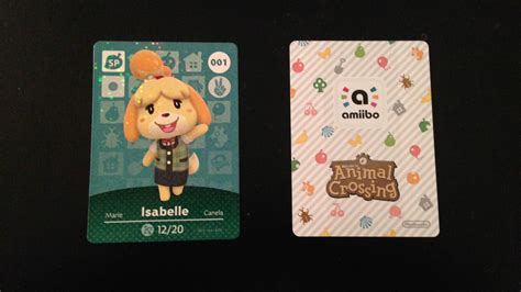 animal crossing nfc card template an animal crossing amiibo cards examination michibiku