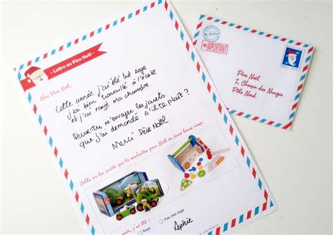 Exemple De Lettre Au Pere Noel Pour Adulte Lettre Au P 232 Re No 235 L 224 Imprimer Momes Net