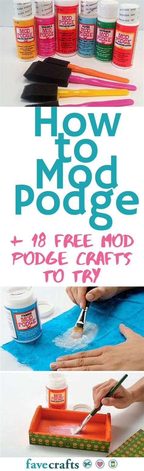 How To Decoupage With Mod Podge - mod podge crafts decoupage and crafts on