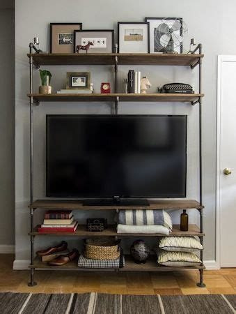 Plumbing Pipe Tv Stand by Best 25 Plumbing Pipe Furniture Ideas On