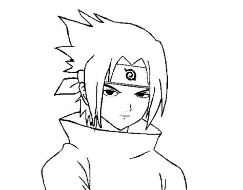 imagenes de sasuke y sakura para dibujar a lapiz dibujo de sasuke enfadado para colorear dibujos net