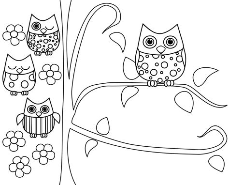 owl coloring pages preschool owl coloring pages preschool owl coloring pages online
