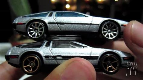 Hotwheels Delorean Dmc 12 wheels delorean dmc 12 review