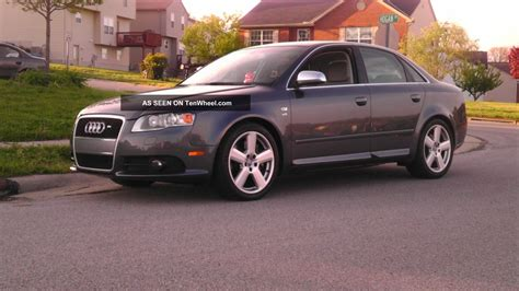 2005 audi s4 exhaust 2005 5 b7 audi s4 carbon fiber trim upgraded exhaust and