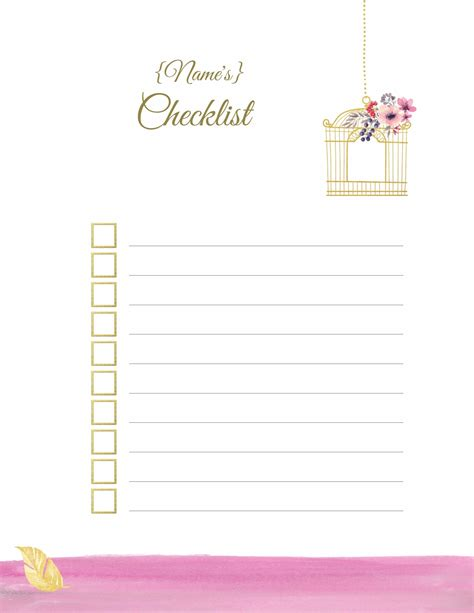 Do Find Printable To Do List