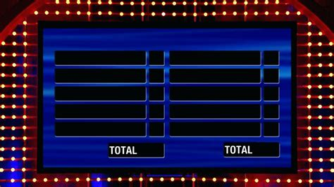 family fued template template family feud template for powerpoint