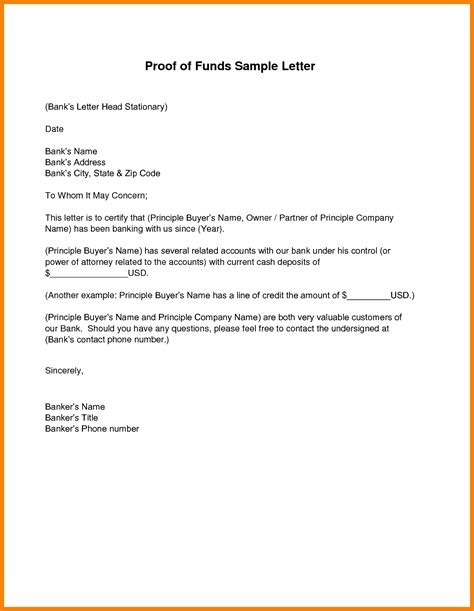 certification letter for proof of billing proof of funds letter template articleezinedirectory