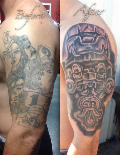 before and after cover up las vegas tattoo shop ink