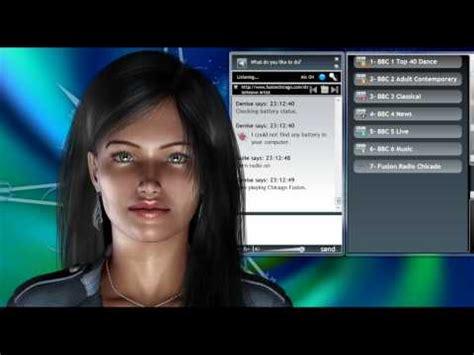 virtual assistant denise 1.0 guile 3d studio part 2