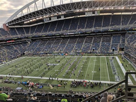 what sections are covered at centurylink field centurylink field section 306 seattle seahawks
