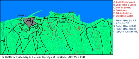 the battle for heraklion battle of crete german landings at heraklion 20 may 1941