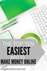 Are the top ten easiest ways to make money online that anyone can do