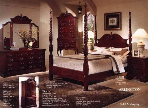 arlington bedroom set buy mahogany bedroom set product