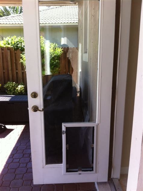 Doggie Doors For Patio Doors Astounding Doggie Door Patio Door Backyards Patio Doors With Door Doggie