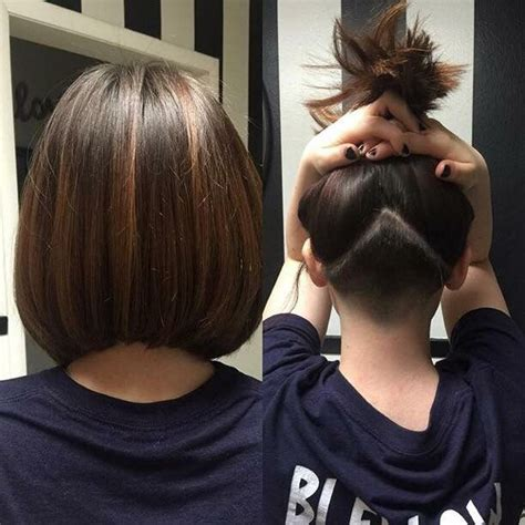 bobs on locked hair undercut with an angled bob locks by linds pinterest