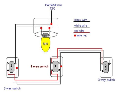 4 way switch wiring diagram 4 free engine image