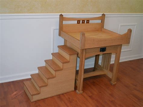 dog stairs for high bed wood elevated dog bed with stairs elevated dog bed with
