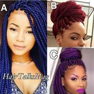 colorful box braids braids hairstyles braids
