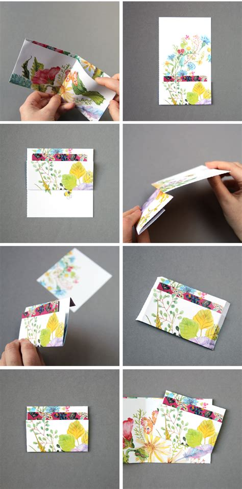 How To Make A Wallet With Paper - diy paper wallet gathering