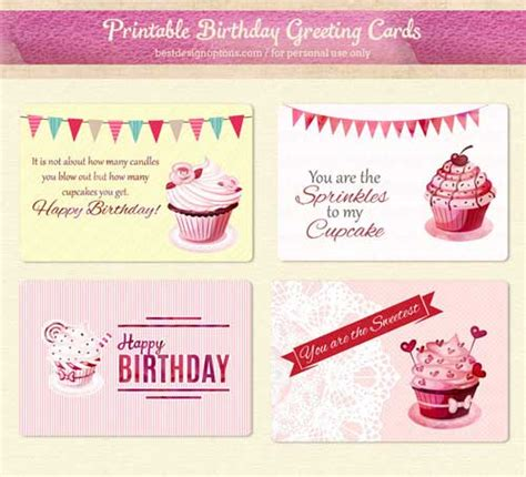 Printable Birthday Gift Tags Cards - printable birthday cards and gift tags to download free
