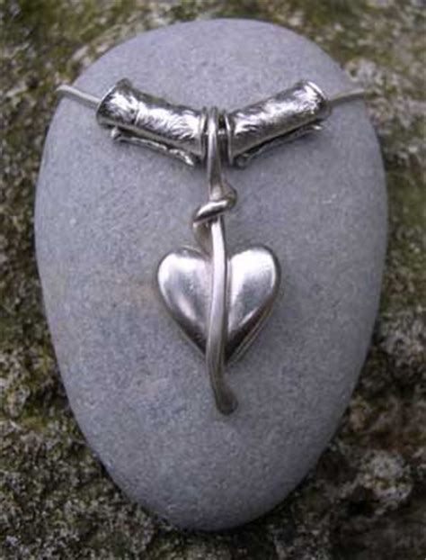 Handmade Silver Pendants Uk - handmade silver pendants chunky pendant