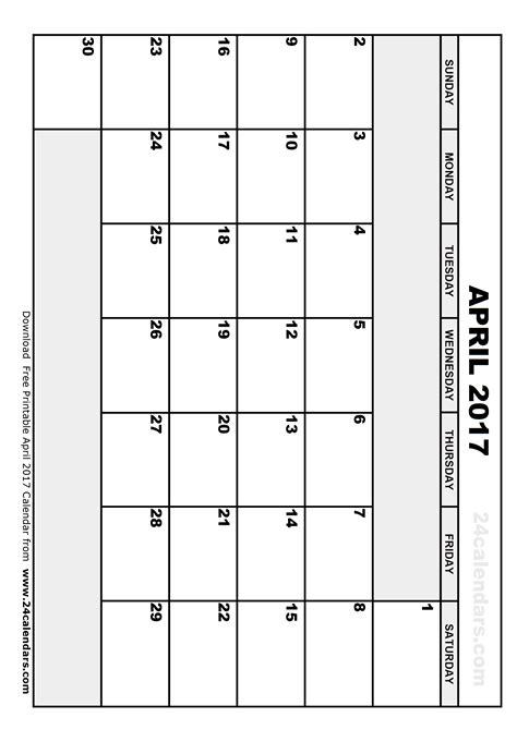 printable calendar april 2017 april 2017 calendar printable