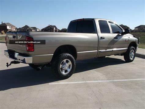6 Door Dodge Truck by 2007 Dodge Ram 2500 Slt Crew Cab 4 Door 6 7l Diesel