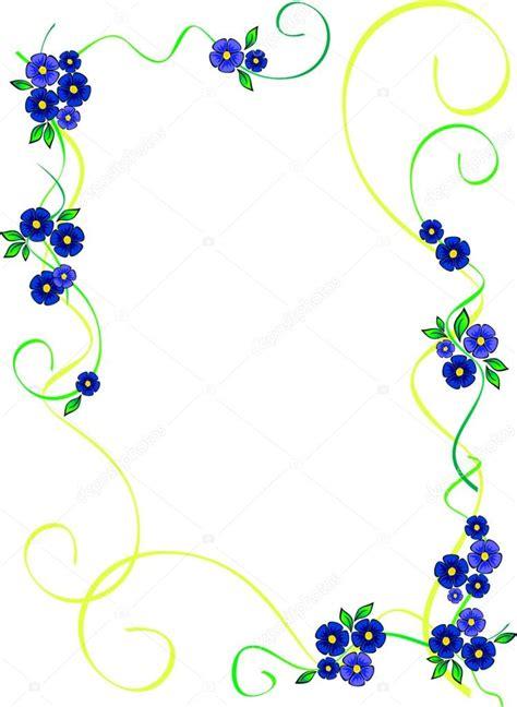 cornici fiori cornice di fiori vettoriali stock 169 oscarmcwhite