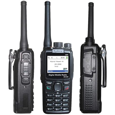Handy Talkie Spc Uhf Fm Transceiver 1 Set Limited kyd dmr digital radios uhf vhf walkie talkie ham radio dm