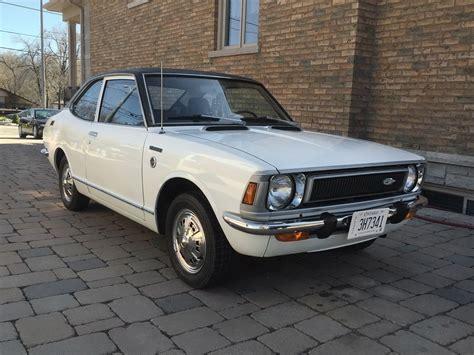 72 Toyota Corolla Mini Hemi 1972 Toyota Corolla Deluxe Coupe