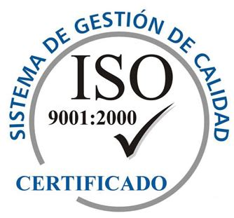 4 1 Iso Nomenclatura Y Certificaci 243 N Iso 9001 2000