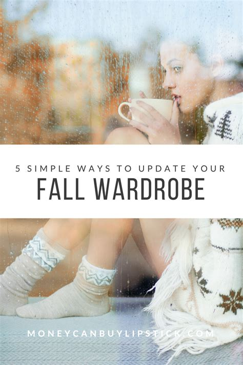 5 simple ways to update your fall wardrobe money can buy