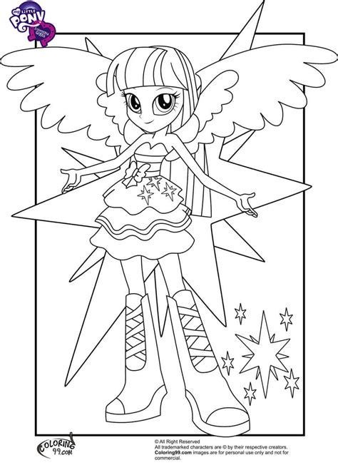 15 Printable My Little Pony Equestria Girls Coloring Pages My Pony Equestria Coloring Printable