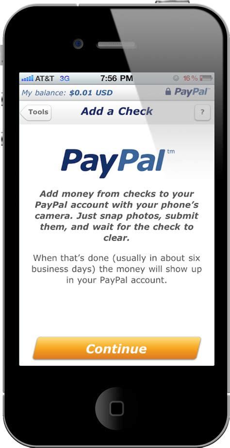 Paypal Background Check Paypal Now Accepts Check Pictures Macgasm