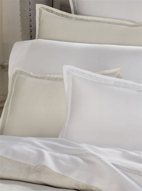 sferra bedding sferra giza 45 trina lace bedding aiko luxury linens