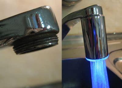 mousseur de robinet embout mousseur lumineux pour robinet filetage int 233 rieur spadealers
