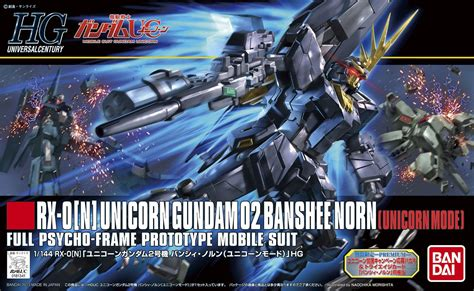 Sd Gundam Unicorn Banshee hguc unicorn gundam 02 banshee norn