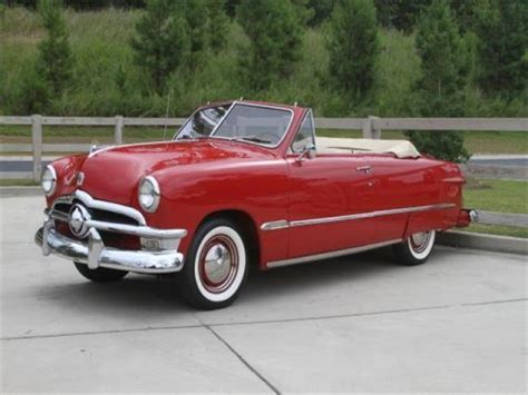 customized 1950 ford deluxe crestliner convertible for sale