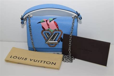 Tas Lv Monogram Reporter Mirror Quality Limited limited edition louis vuitton quot early bird quot twist bag at 1stdibs