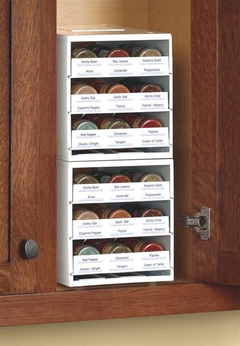 Innovative Spice Racks tough times call for well stocked pantry and spice rack innovative spicestack keeps home cooks