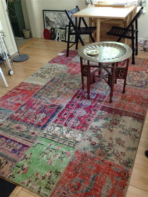 Ikea Turkish Patchwork Rugs by Silkeborg Patchwork Vintage Turkish Rug From Ikea
