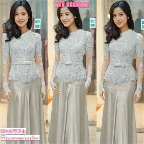 Model Dress Kebaya Murah baju dress kebaya modern cantik terbaru murah