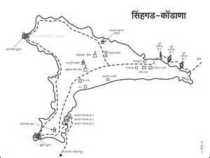 map fort sinhagad