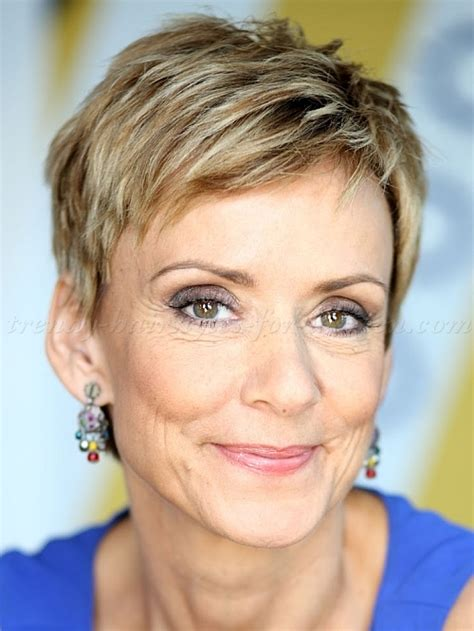 funky hairstyles for over 50 ladies women 50 short hair short haircut over 50 trendy
